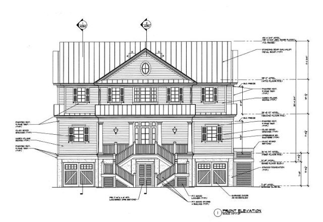 Saltwater - Homes- Nat Wallen - Proposed Construction